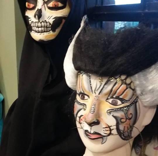 Halloween Figuurtjes Maken.Workshop Halloween Skeletten Madline